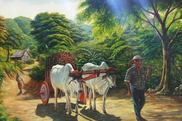 Banco Nacional muestra obras de arte autónomo