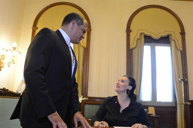 """Correa: """"La situación de Venezuela puede resolverse con elecciones"""""""