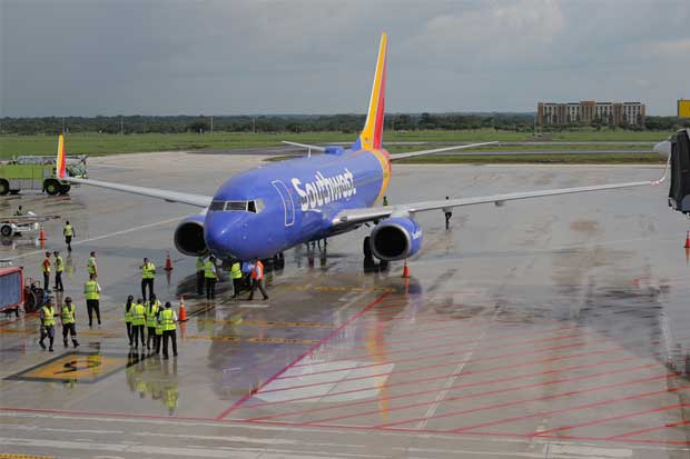 Southwest abrió nuevo vuelo desde Florida a Costa Rica