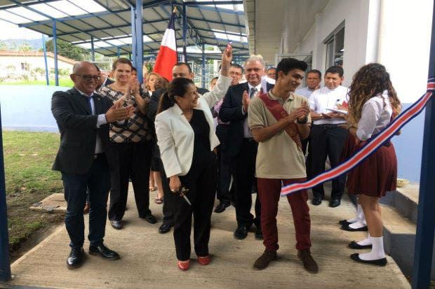 Colegio Técnico Profesional Escazú recibió infraestructura de ¢557 millones