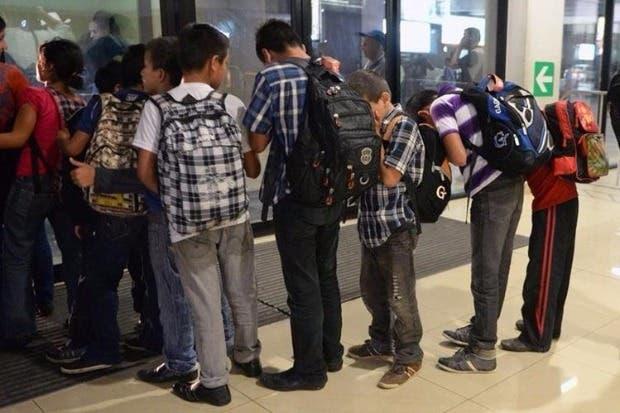 El 62% de los niños migrantes de Centroamérica es víctima de trata