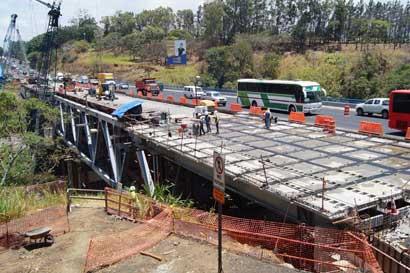 Gobierno entregará este jueves puente Alfredo González