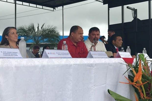 Inauguran obras de infraestructura en Río Cuarto de Alajuela