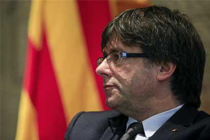 Presidente catalán intensifica campaña para lograr independencia