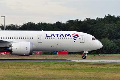 LATAM volará en el país con ruta a Lima