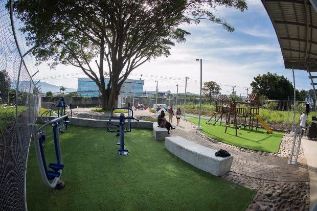 Belén estrena parque comunitario de $182 mil