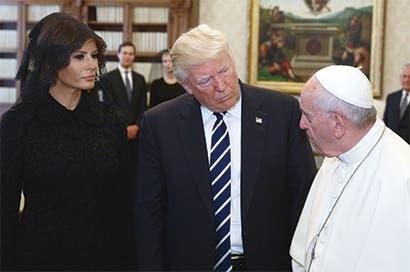 El Papa y Trump no tienen más en común que una cita en el Vaticano