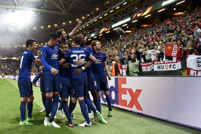 Manchester United se corona campeón de la Europa League