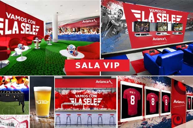 Usuarios de Avianca podrán ver a La Sele en Sala VIP de la aerolínea