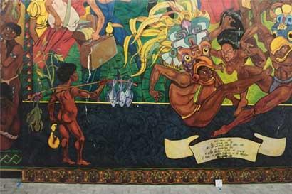 """Museo de Arte Costarricense ordena restauración del mural """"Tierra del Guarco"""""""