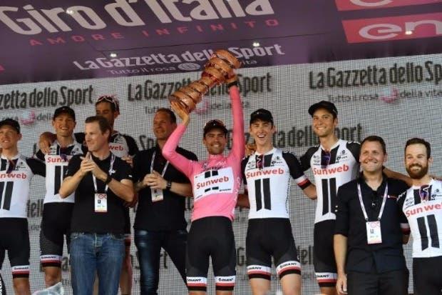 Dumoulin gana el Giro de Italia; Amador termina en el top 20