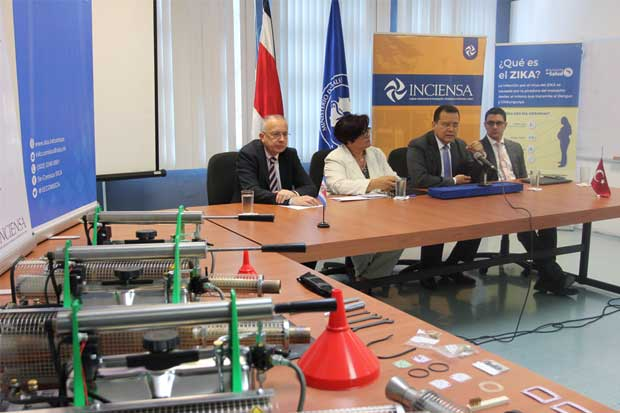 Costa Rica recibe donación de equipos para control de vectores