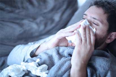 Caja registra 34 mil infecciones respiratorias por semana