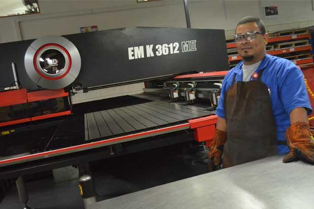 Eaton ha invertido $2,3 millones en su planta en el país