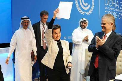 "Christiana Figueres: ""Es el momento de redoblar esfuerzos contra cambio climático"""