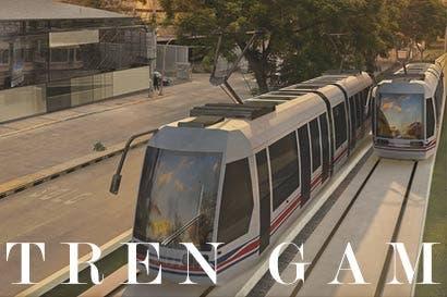 Transporte urbano moderno, limpio y eficiente