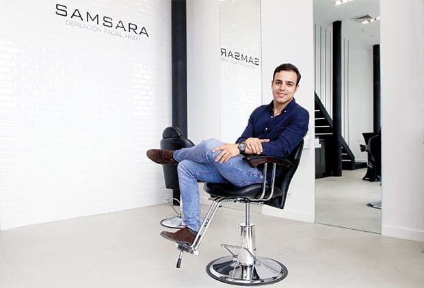 Un emprendedor que apunta al crecimiento