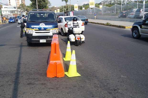 Tránsito sancionará mal estacionamiento durante juegos de La Sele