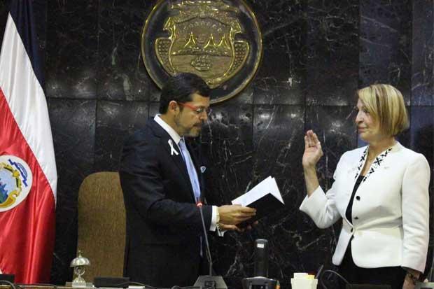 Carmenmaría Escoto fue electa vicepresidenta de la Corte