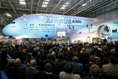 Sin nuevos pedidos, Airbus producirá menos A380 al mes