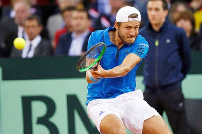 Copa Davis a un parpadeo