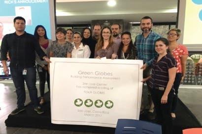 Procter & Gamble recibió certificación Green Globes