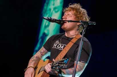 Ed Sheeran enloqueció a 18 mil personas