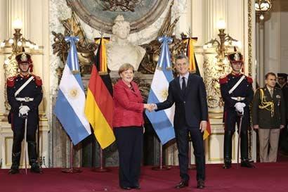 Merkel refuerza unidad de G-20 con visita a Argentina y México