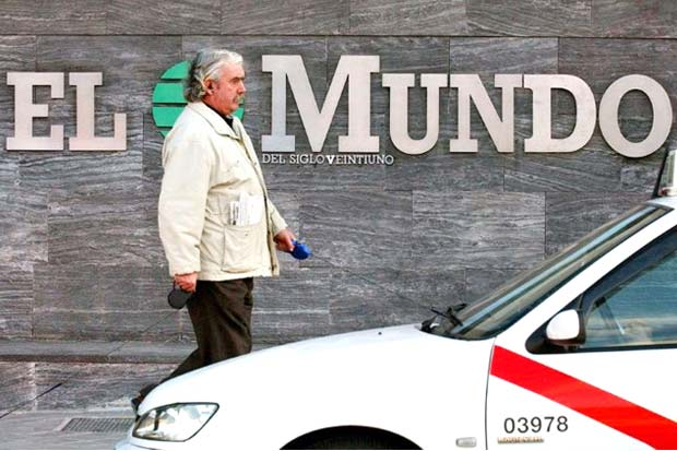 Plan para reanimar diario español El Mundo incluirá más noticias