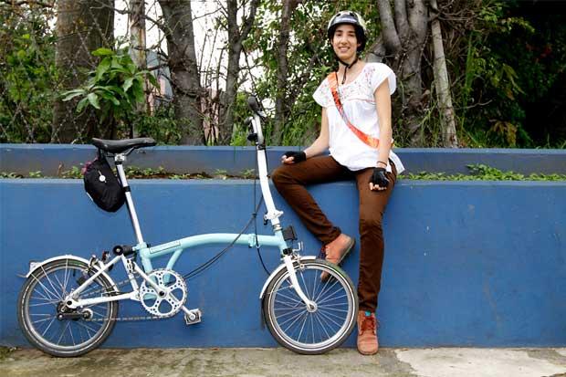 """""""La gente tiene que acostumbrarse a andar en bicicleta"""""""