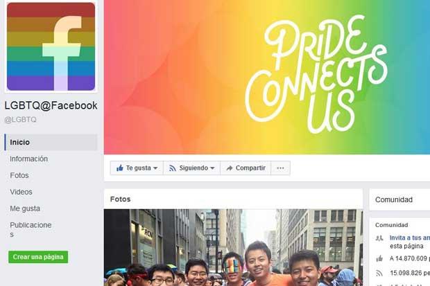 ¿Cómo activar nuevo ícono LGBT en Facebook?