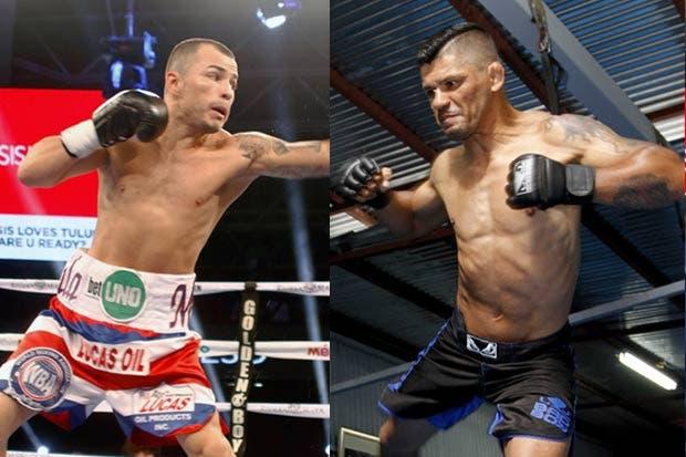 "¿Boxeo o MMA? Tiquito y Mandarina ""suben al ring"""