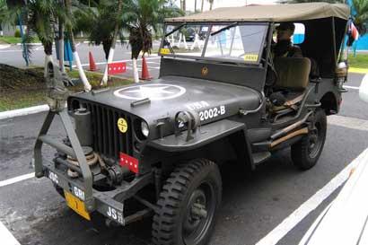 Exhibirán autos militares este fin de semana en Lincoln Plaza