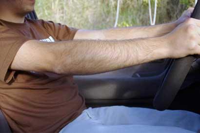 Más de 1.500 conductores fueron multados por no usar cinturón de seguridad