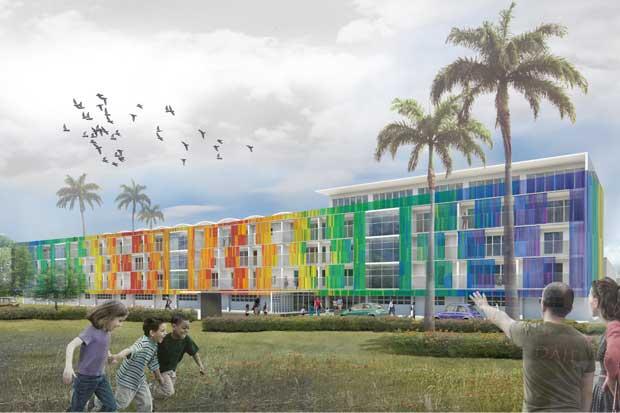 Campaña busca contribuciones para nueva fachada del Hospital de Niños
