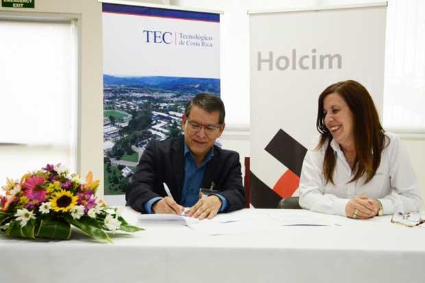 TEC y Holcim se unieron para el desarrollo sostenible