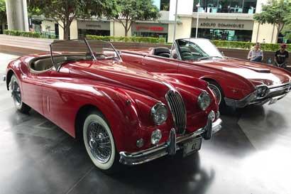 Autos clásicos convertibles se exhibirán en Escazú