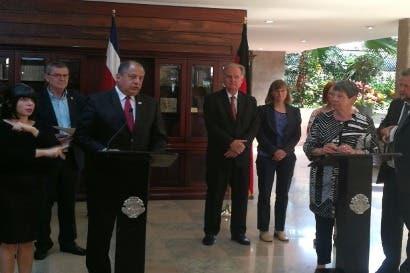 Costa Rica recibirá apoyo de Alemania para mitigar cambio climático
