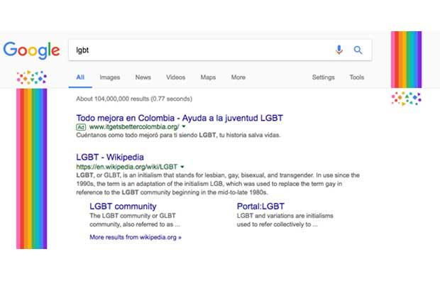 Google se une a celebración de LGTBI con #OrgulloDeSer