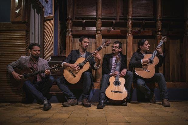 Cuarteto de Guitarras de Costa Rica estrena producción
