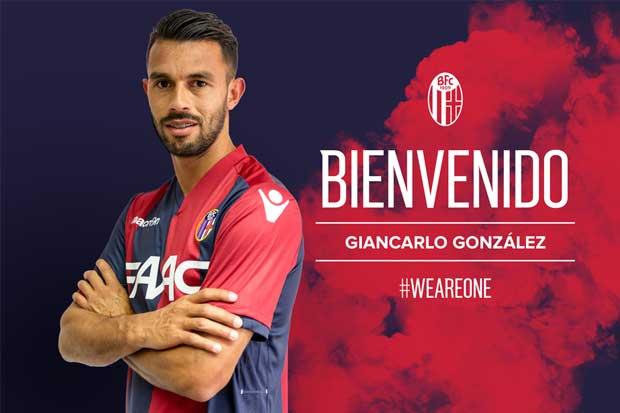 Giancarlo González firma con el Bologna de Italia