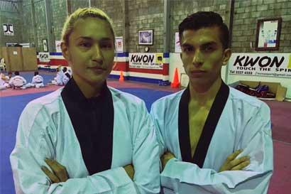 Dos ticos competirán en el Mundial de Taekwondo