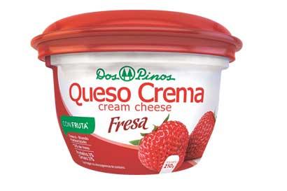Dos Pinos lanzó nuevo queso crema de fresa