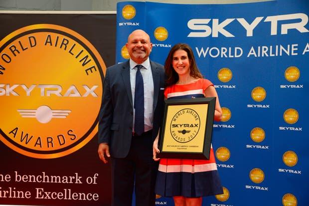 Copa Airlines fue reconocida como mejor aerolínea de Centroamérica y el Caribe