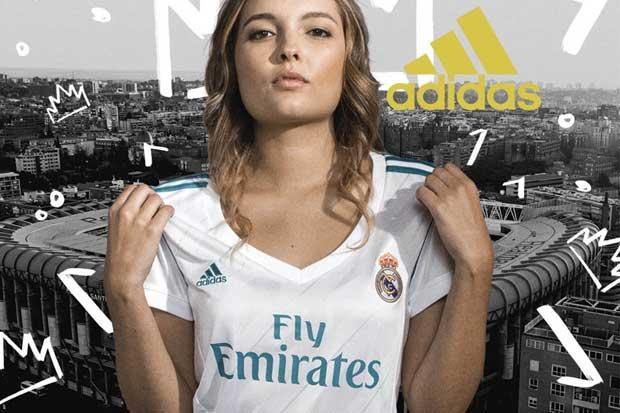 Nuevas camisas del Real Madrid ya están en el país