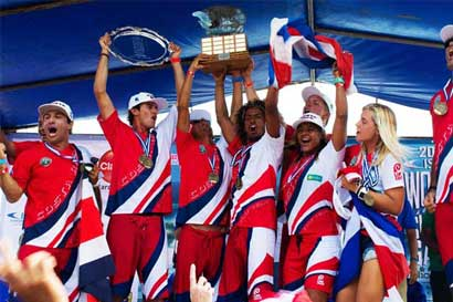 Circuito nacional de surf tendrá pruebas de doping por primera vez