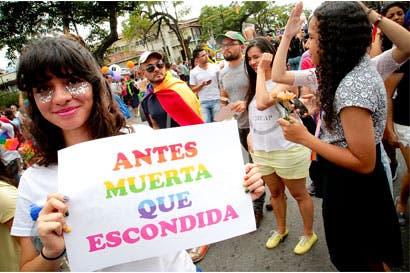 Marcha de la Diversidad llenará de colores San José