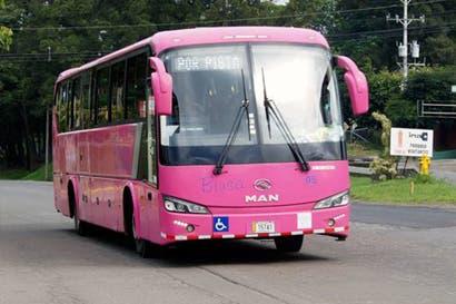 Servicio de buses en tres rutas no se verá afectado ante renuncia de operador