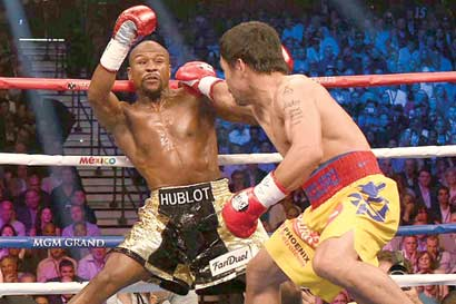 Pacquiao quiere revancha ante Mayweather