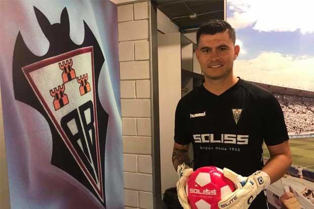 Danny Carvajal es presentado con el Albacete